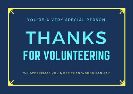 Volunteer-Thanks